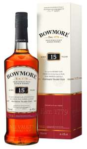 Amazon - Bowmore whisky 15 year old £35.00 with prime. 50/60 normally