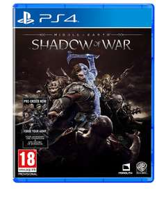 [PS4/Xbox One] Middle-Earth: Shadow of War - including 'Forge Your Army' DLC - £29.99 - Base