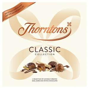 Thorntons Classic Collection 462g Asda £6