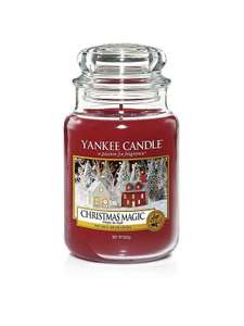 Large Yankee candle jars £11.99 delivered via C&C @ Very.