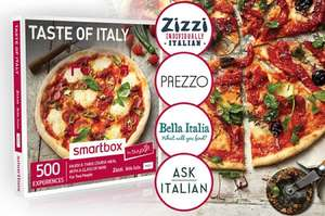 Meal for two with glass of wine now 22.50 with code at Buyagift Now includes Bella Italia and Ask