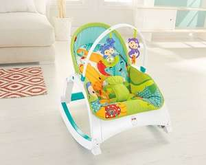 Fisher-Price Rainforest Friends Infant-To-Toddler Rocker - £41 @ Amazon