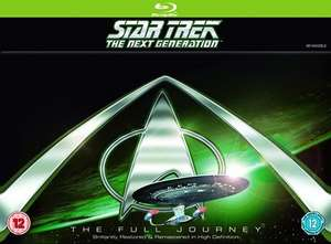 Star Trek the Next Generation: Complete (Box Set) [Blu-ray] £38.34 with code @ Zoom
