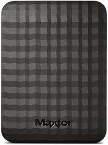 Maxtor M3 4 TB USB 3.0 Slimline Portable Hard Drive - Black £99.95 Amazon