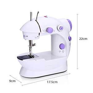 Electric Sewing Machine 2 Speed Adjustment with Light Foot Pedal £13.99 Sold by HoneyMomy-UK and Fulfilled by Amazon