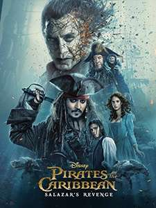 Latest pirates of the carribean movie HD £6.99 Amazon Video