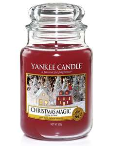 Christmas Yankee Candle LARGE Jars - £11.99 (PRIME) £16.74 (Non Prime) @ Amazon