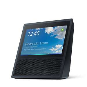 Amazon Echo Show Smart Speaker with Alexa & Amazon Music Voucher (Black or White) £165.91 Delivered @ QVC
