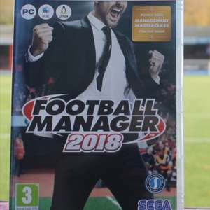 Football Manager 2018 £20.00 + £7.00 P&P or Collect from EBB Stadium