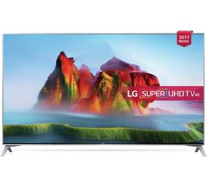 LG 49SJ800V 49 Inch Smart 4K Ultra HD TV with HDR, Nano cell tech