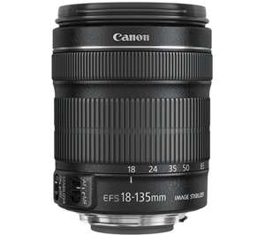 Canon EF-S 18-135mm f/3.5-5.6 IS Lens - £299 @ Canon (2yrs warranty)