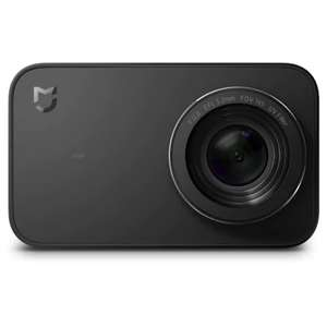 Xiaomi Mijia Camera Mini 4K 30fps Action Camera for £68.76 Delivered with code @ Gearbest