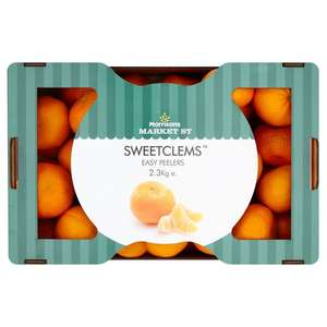 Morrisons Sweetclems Easy Peelers 2.3KG only £2