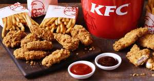 New KFC Colonel's Club Deals- £1 Krushems/Free Popcorn Chicken w/Bucket or Cookie w/Meal