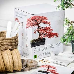 Plant Theatre Bonsai Trio Kit - Only £7.99 (Prime) £12.74 (Non Prime) from Amazon!