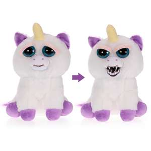 Feisty Pets Glenda Glitterpoop Plush Stuffed Unicorn Turns Feisty with a Squeeze (+ more on link) £9.94 Del w/code @ Tomtop