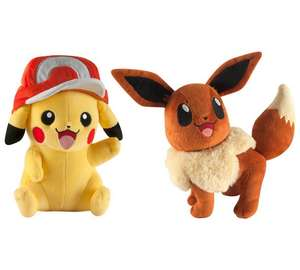 Pokemon Large Plush Assortment - £8.49 @ Argos