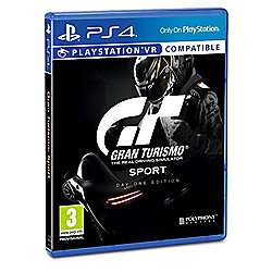 GT: Sport - Day One Exclusive Edition (PS4/PSVR) £34 Delivered @ Tesco Direct (Standard £32.85 @ Base)