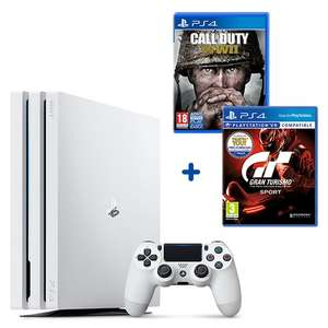 PS4 PRO WHITE DEAL  £299.99 at Smyths Toys