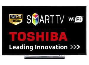 "Toshiba 32L3753 32"" Smart LED TV Full HD 1080p With Freeview HD Tuner Wi-Fi HDMI (Refurb) @ Tesco eBay only £172 Delivered"