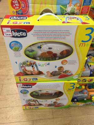 Instore at Mothercare Blackburn - Chicco I-Gym less than half price £19.99