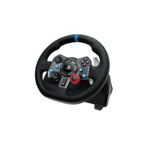 Logitech G29 Wheel+Pedals+Gearstick Bundle @ Currys @ £153.99 with code