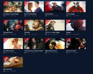 Digital HD Movies Rentals starting at 99p via TalkTalkTV (Formerly Blinkbox)
