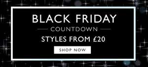 Upto 75% Off Black Friday Offers + Extra 20% Off W/code + Free Delivery / Returns at Clark's Outlet eg Darning Hi Men's Black Leather Desert Boots was £80 now £24 / Faulkner On Black Leather Chelsea Boots was £90 now £24