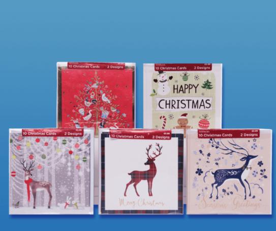 Free box of Christmas cards at WHSmith via o2 priority
