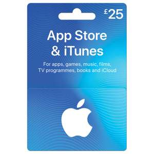 Buy an iTunes £25 or £50 card and get extra credit @ Wilkinsons/Wilko