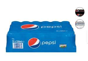 Pepsi/ Diet Pepsi/ Pepsi Max (24 X 330ml cans) £4.99 @ Lidl (this Thursday)