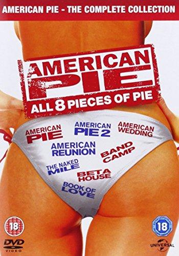 American Pie 1-8 Box Set DVD £6.99 prime / £8.98 non prime @ Amazon