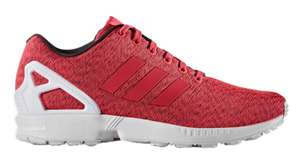 adidas Originals Mens ZX Flux Trainers Core Black/Shock Red/White - £29.98 delivered @ MandM direct