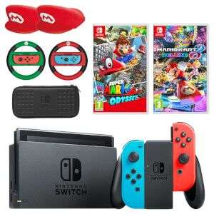 Nintendo switch mario mega bundle at Nintendo Store - £379.99. Fitzyboy also mentioned 10% cashback