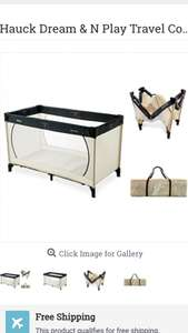 hauck travel cot £5 @ Aldi instore - Bingley
