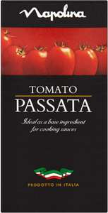 Napolina Tomato Passata (500g) One pack is 88p but you can buy 2 for £1.00 @ Asda