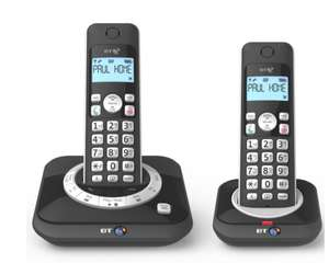 BT 3530 Cordless Telephone with Answering Machine – Twin £24.99 @ Robert Dyas free c&c