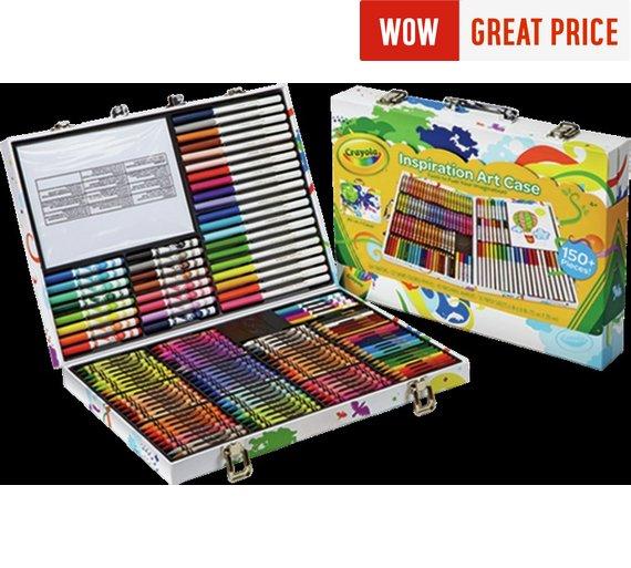 Crayola Inspirational Art Case £11.99 Using Code FLASH20 @ Argos Free C&C