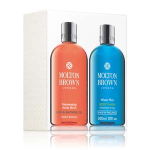 2  (very classy and the full size 300ml) Molton Brown body wash delivered for £20.80 @ Fragrance expert