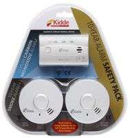 £23.90 Delivered - 10-Year KIDDE Carbon Monoxide & 2x Smoke Alarms Safety Pack £23.90 @ CPC