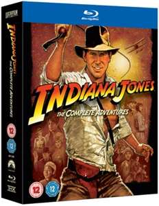 Indiana Jones: The Complete Collection (Box Set) [Blu-ray] £10.80 @ Zoom