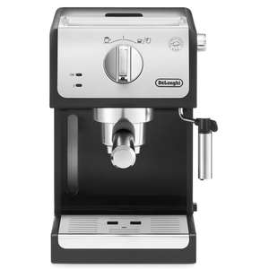 Delonghi ECP33.21 Traditional Pump Coffee Machine in Black/Silver £79.99 + FREE Rapid delivery @ Co-op electrical