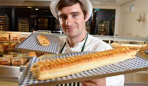 Foot Long Sausage Roll for £1 at Morrisons