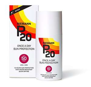 P20 SPF50 Sun cream 200ml £10.95 with Prime. Add £3.99 if not on Prime.