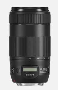 Canon Online Black Friday Deal - Save £190 - Canon EF 70-300mm F/4-5.6 IS II USM £251.99