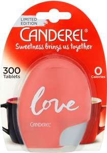 Canderel 300 pack Half Price was £2.95 now £1.47 @ Tesco