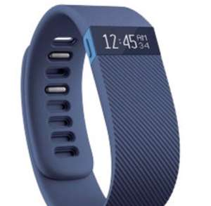 Fitbit Fitness + Sleep Tracker Charge HR Blue - £29.39 incl. VAT delivered @ Viking Direct