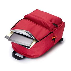 AmazonBasics Classic Backpack - Red £4.64 (Add-on Item) @ Amazon