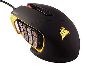[Lightning Deal] Corsair Scimitar Pro RGB 16000 DPI Optical Gaming Mouse - £63.99 @ Amazon (Prime early access deal)