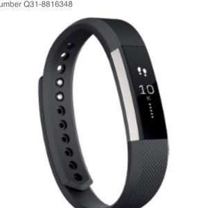 Glitch Fitbit Activity Tracker Alta Extra Large Black £29.27 @ Viking direct